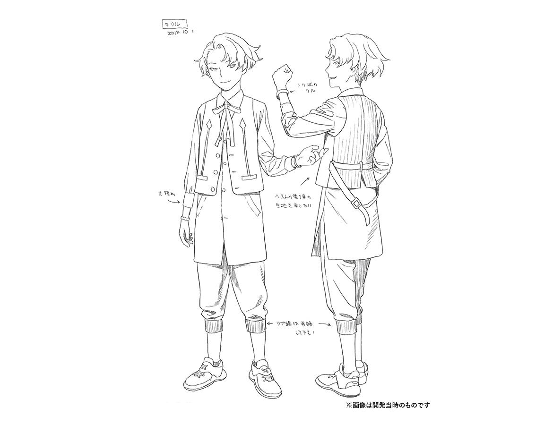 キャラクター原案